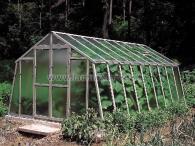 LIMES VARIANT L 3 pozinkovaný skleník, prosklení - sklo HELIOS