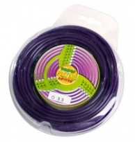 Pla.Nylon 15m, kruh, 2mm