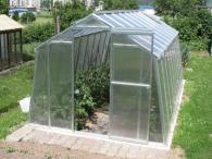 LIMES Prodlužovací modul pro skleník Hobby H 7-W s polykarbonátem