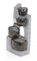 Zahradní fontána - Kamenné misky