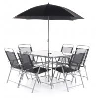 Zahradní nábytek VeGAS MARIA 6 KOMPLET stolová sestava