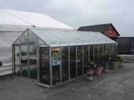 LIMES VARIANT J 6 pozinkovaný skleník - s polykarbonátem 8mm