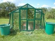 Limes Lakovaný skleník PRIMUS K 3 - sklo HELIOS 4mm