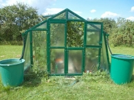 Limes Lakovaný skleník PRIMUS K 6 - sklo HELIOS 4mm