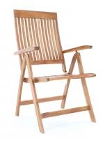 Dřevěné polohovatelné křeslo VeGA TORINO