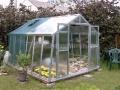 LIMES VARIANT K 3 pozinkovaný skleník, prosklení - sklo HELIOS