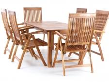 Dřevěný zahradní nábytek TORINO VeGA set 6