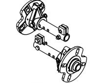"""Akční set PUBERT Quatro Junior 60H + kola s diferenciálem 10"""" a vozíkem VARES IT 500 - mechanické samoskápění"""