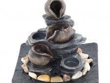 Pokojová fontána - Nádoby