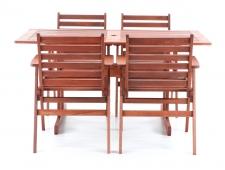 Dřevěný zahradní nábytek MONROO VeGA 4