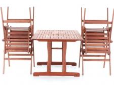 Dřevěný zahradní nábytek MERILIN 4