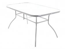 Kovový zahradní nábytek Ekonomy set 6 SILVER stolová sestava