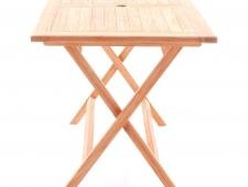 Dřevěná skládací sestava TEAK POHODA SET 4