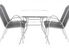 Kovový zahradní nábytek VeGAS PATRICIA 4 stolová sestava