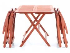 Dřevěná skládací sestava VeGA SET 4