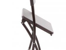Stolová sestava ALEGRO set 6 - imitace umělého ratanu