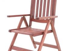Dřevěný zahradní nábytek MERANTI PARIS SET 6