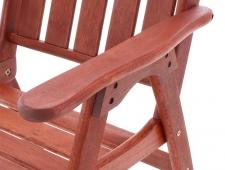 Dřevěný zahradní nábytek VICTORIA SET 6