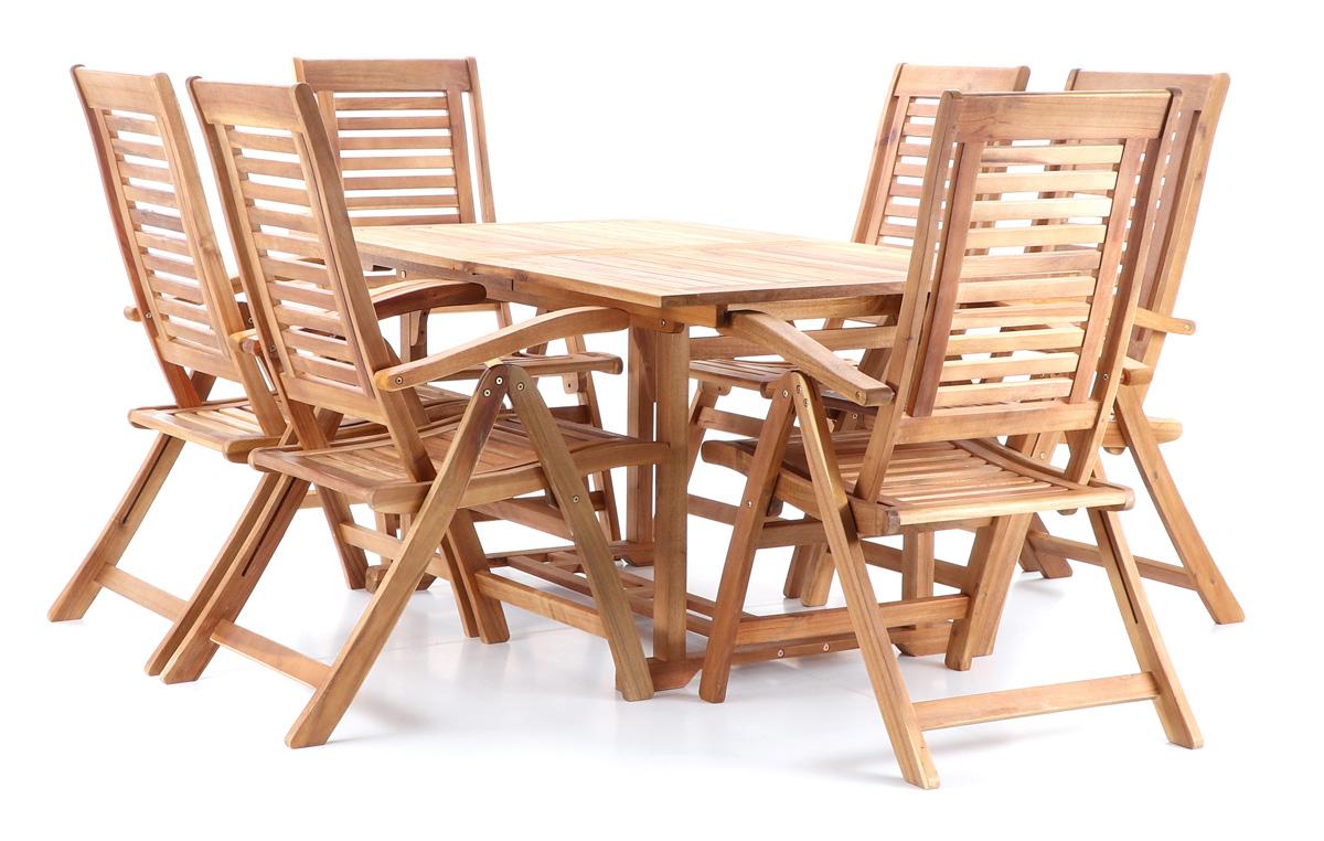KING VeGA 6 stolová sestava