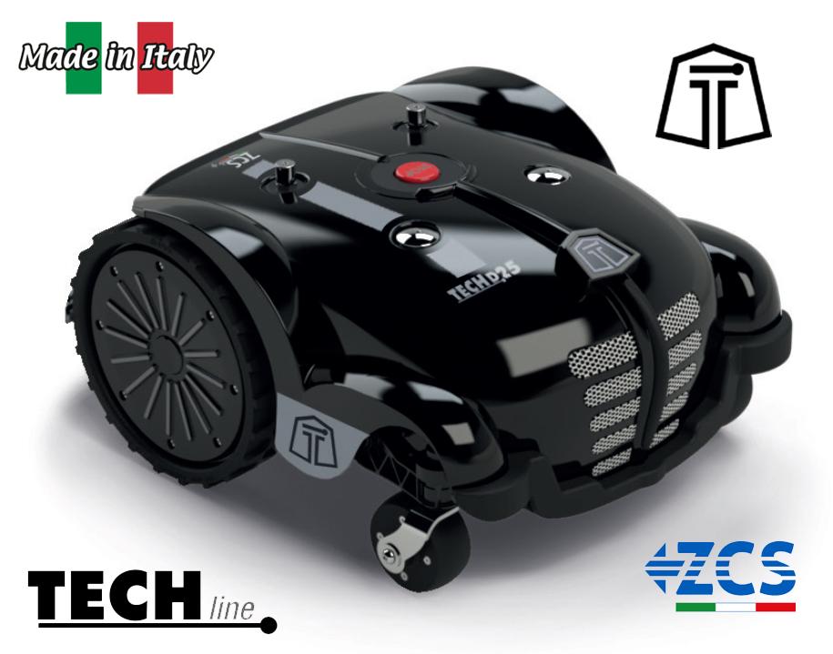 TECHline robotická sekačka TECH D25